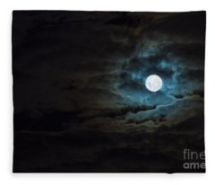 Dark Rising Fleece Blanket