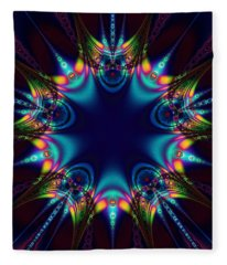 Dark Star Fleece Blanket