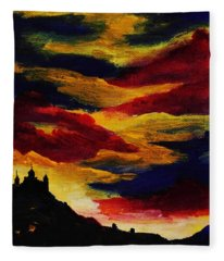 Dark Times Fleece Blanket