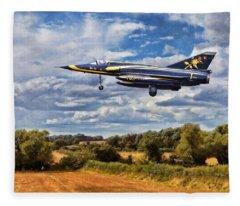 Dassault Mirage 5 Fleece Blanket
