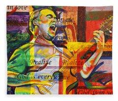 Dave Matthews-bartender Fleece Blanket