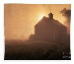 Dawn Breaks Fleece Blanket