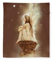 Daydreaming Faerie Fleece Blanket