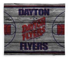 Dayton Flyers Fleece Blanket
