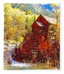 Deadhorse Mill Fleece Blanket