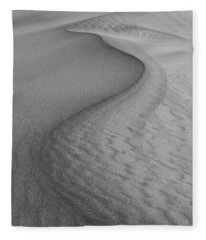 Death Valley Sand Dunes Fleece Blanket