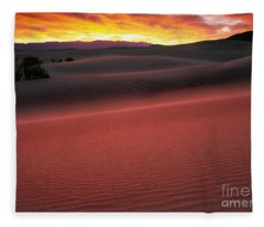 Death Valley Sunrise Fleece Blanket