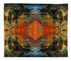 Decalcomaniac Intersection 2 Fleece Blanket