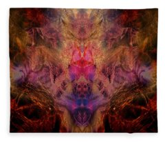 Decalcomaniac Mirror Fleece Blanket