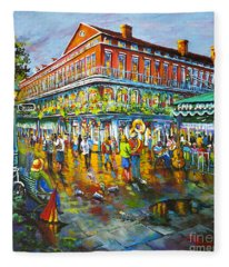 Decatur Evening Fleece Blanket