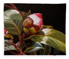 December Rose Fleece Blanket