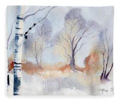 December Fleece Blanket