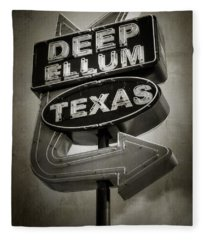 Deep Ellum Fleece Blanket