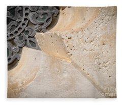 Degoyler Limestone Fleece Blanket