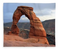 Delicate Arch - Arches National Park - Utah Fleece Blanket