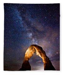 Delicate Light Fleece Blanket