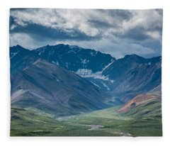 Denali National Park Fleece Blanket