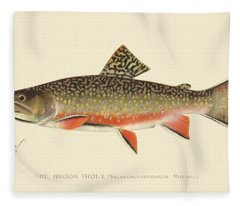 Denton Brook Trout Fleece Blanket