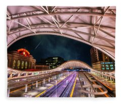 Denver Air Traveler Fleece Blanket