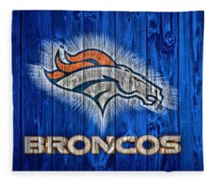 Denver Broncos Barn Door Fleece Blanket