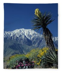 Desert Blooms Fleece Blanket