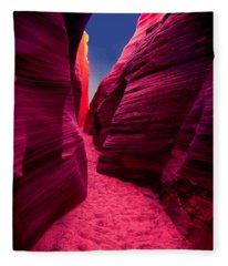 Desert Maze Fleece Blanket