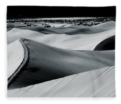 Desert Night Death Valley By Diana Sainz Fleece Blanket