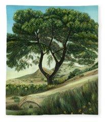 Desert Pine Fleece Blanket