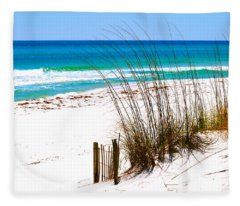Destin, Florida Fleece Blanket