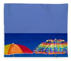 Deuce Umbrellas Fleece Blanket
