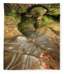 Devil's Bathtub Fleece Blanket