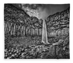 Basalt Photographs Fleece Blankets