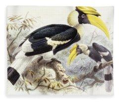 Dichocerus Bicornis Fleece Blanket