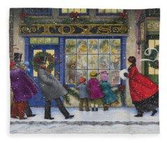 The Toy Shop Fleece Blanket