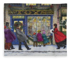 The Toy Shop Fleece Blanket