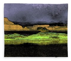 Digital Powell Fleece Blanket