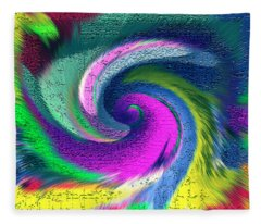Dimensional Doorway Fleece Blanket