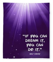 Disney's Dream It Fleece Blanket