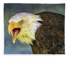 Do It Or Else Fleece Blanket