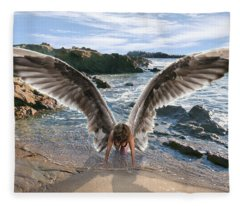 Do Not Fear I Have Come In Your Defense Fleece Blanket