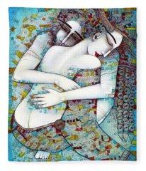 Art Nude Fleece Blankets