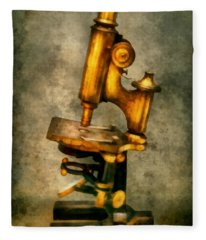 Doctor - Microscope - The Start Of Modern Science Fleece Blanket