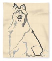 Dog - Lassie Fleece Blanket
