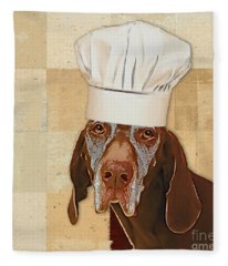 Dog Personalities 56 Chef Fleece Blanket
