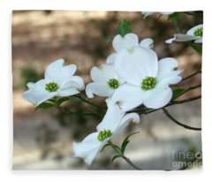 Dogwood 2 Fleece Blanket
