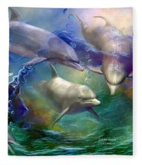 Dolphin Dream Fleece Blanket