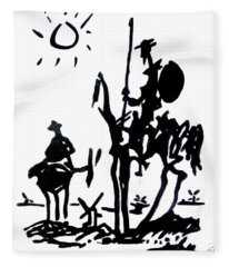 Don Quixote Fleece Blanket
