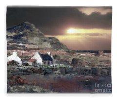 Donegal Sunset Fleece Blanket