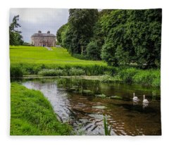 Doneraile Court Estate In County Cork Fleece Blanket