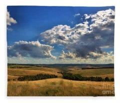 Donny Brook Hills Fleece Blanket